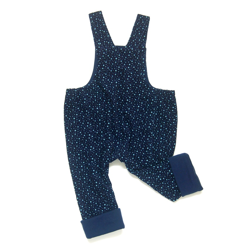 Ludo star print dungarees - LAST ONE!