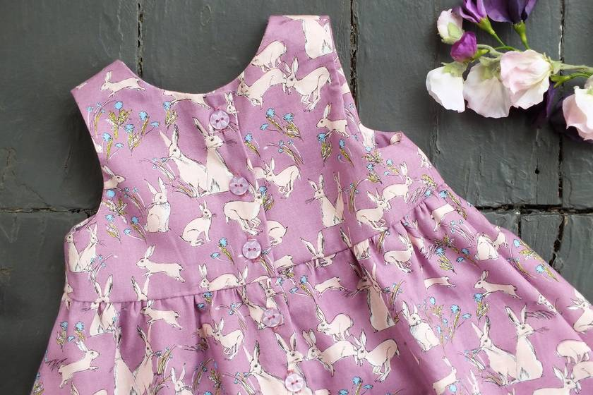 Betty Hares Sundress Lilac