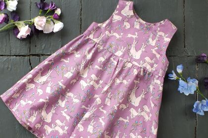 Betty Hares Sundress Lilac