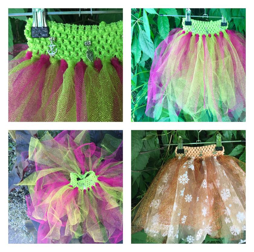Fairy Tutu skirts. 6m-2yrs