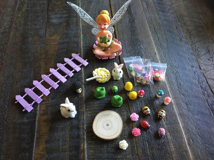 DIY Fairy Garden Miniatures Starter Pack