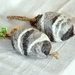 """Felted Soap on a Rope -Set of 2 -  Eco Shower & Shampoo bars  """"Garden Herbs"""""""
