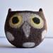Owl Felt Bowl