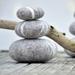 Wool balancing Stones - Set of 3