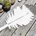 Hand-felted Feather