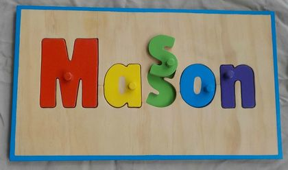 Made to order name puzzle