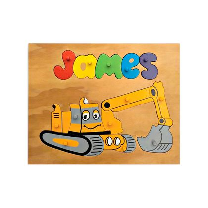 Made to order name puzzle  Digger