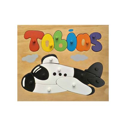 Made to order name puzzle Aeroplane