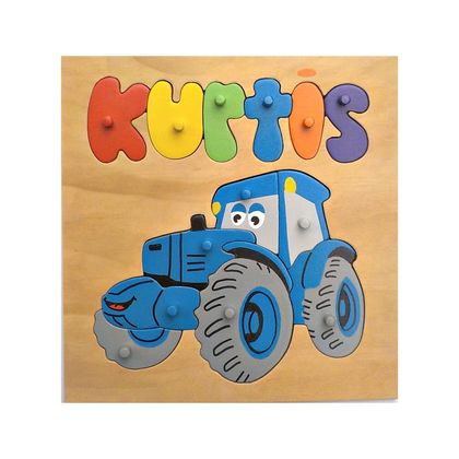 Made to order name puzzle Tractor