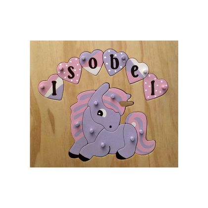 Made to order name puzzle Unicorn