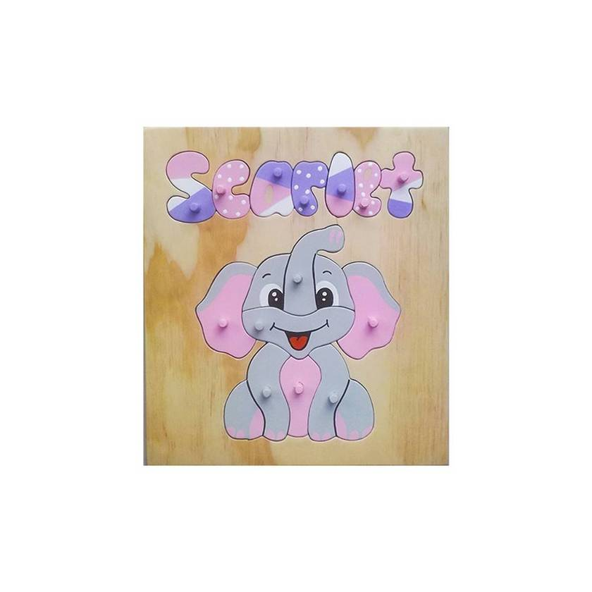 Made to order elephant name puzzle
