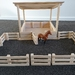 Wooden Toy Large Lean-to Shelter