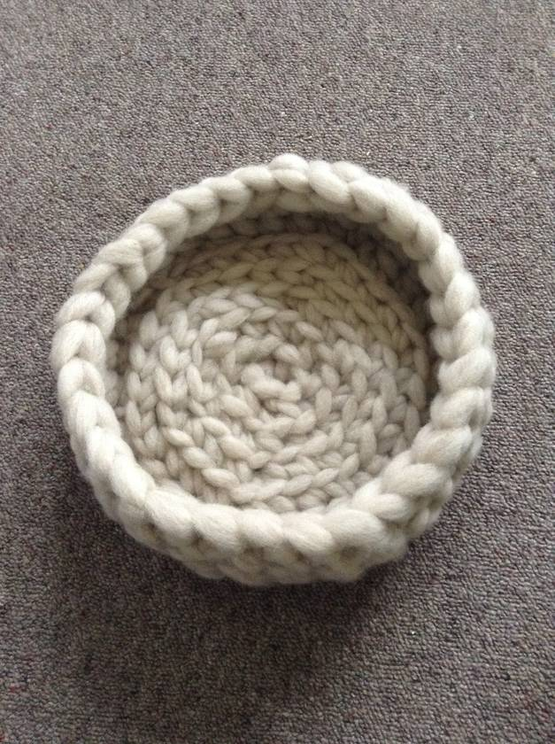 Custom made Woolly cat basket