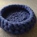 Woolly cat basket