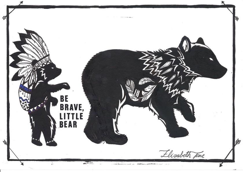 """""""Little Bear"""" - A3"""