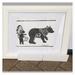 """""""Be Brave, Little Bear"""" - Framed Art"""