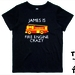 """Custom Printed """"Fire Engine Crazy"""" T-Shirt For 2, 3, 4, 5 & 6 Year Olds, With The Child's Name On It."""