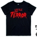 "Named -  ""Little Terror""  T-Shirt For 2, 3, 4, 5 & 6 Year Olds, With The Child's Name On The Back. Custom Printed."