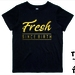 "Named -  ""Fresh Since Birth""  T-Shirt For 2, 3, 4, 5 & 6 Year Olds, With The Child's Name On The Back. Custom Printed. By Tiny Tim."