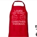 Named - Has The Best Christmas Puddings Apron - Available In 14 Colours - Custom Printed.