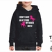 Named - I Don't Have An Attitude My Horse Does! - Youth Hoodie - Custom Printed Hoodie.