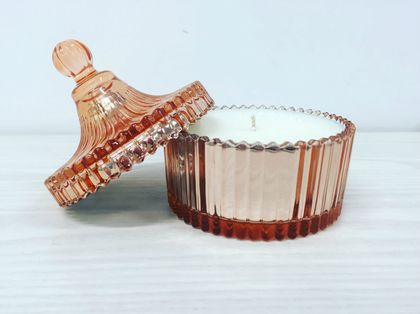 Shine & Shimmer Candle - Rose Gold Carousel
