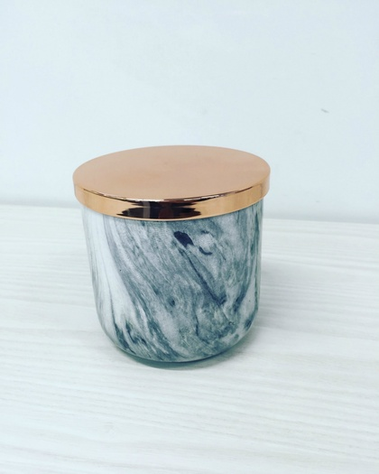 Limited Edition Marble Jar with Lid