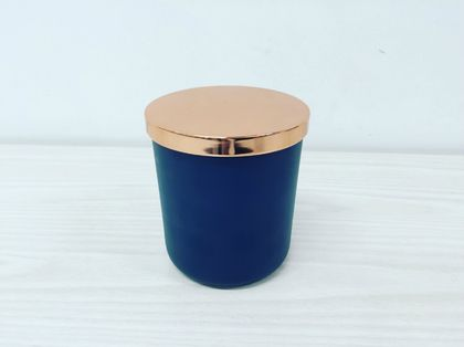 Tumbler Candle Large - Navy with Lid