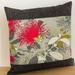 Grey Pohutukawa Cushion Covers NZ MADE