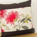 2 Cream Pohutukawa Cushion Covers  (Set of 2 covers) NZ MADE