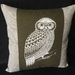 Morepork Cushion Cover
