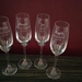 Personalised Bridesmaid Champagne Flutes (Qty-1)