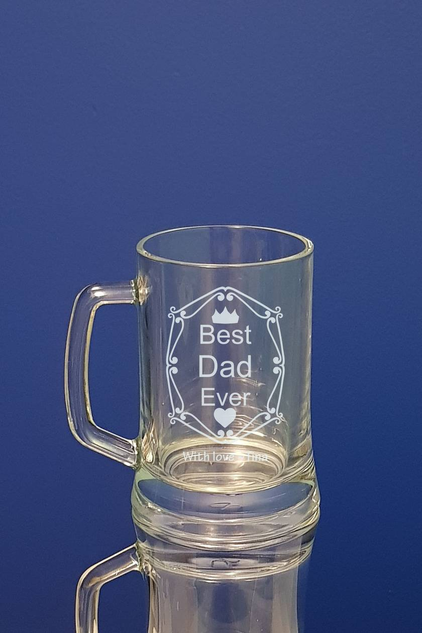 Personalised Father's Day Beer Mug