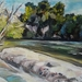 The Waikato River - at Hammond Park - original oil painting , by Vicky Curtin