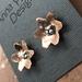 Copper Flower Earrings