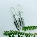 Kowhai Leaf Sterling Silver Earrings
