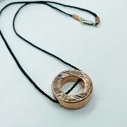Recycled Copper Necklace
