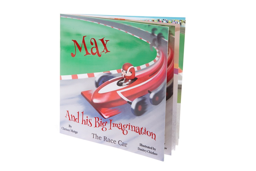 Max and his Big Imagination - The Race Car