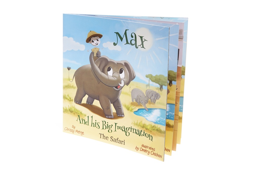 Max and his Big Imagination -The Safari