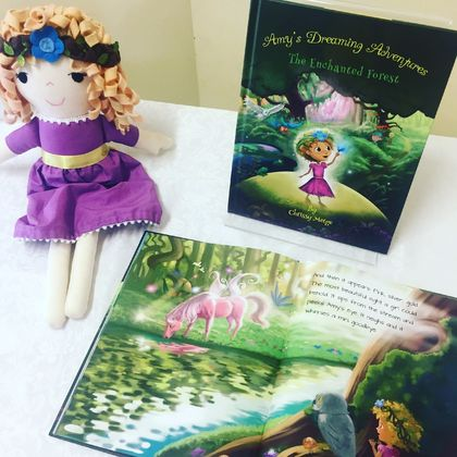Amy Doll Gift Package (Doll + Book)