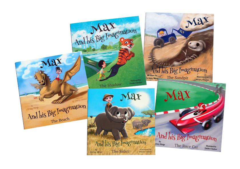 Max and his Big Imagination - The Gift box set Collection