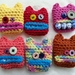 Crochet Tampon Monsters
