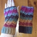 Crochet Twisted Mitts (fingerless)