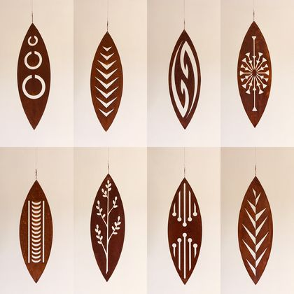 Corten spinning Art - FREE NZ-WIDE SHIPPING