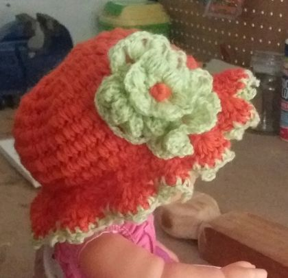 Hat.girls crochet