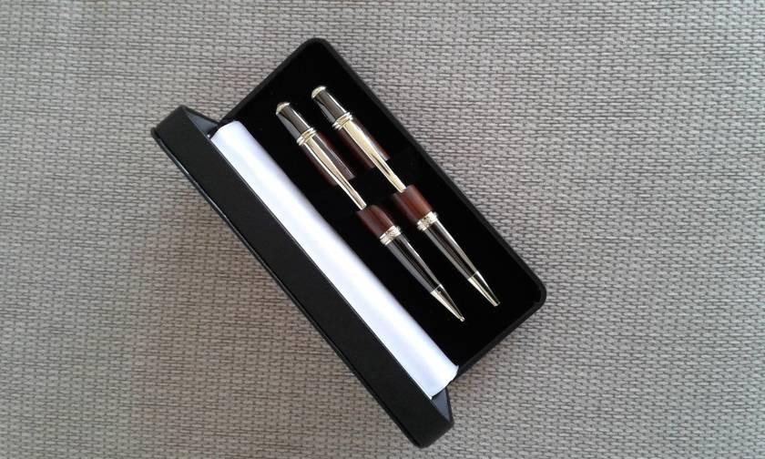 Sierra Style Ballpoint Pen & Pencil Set - Made to Order