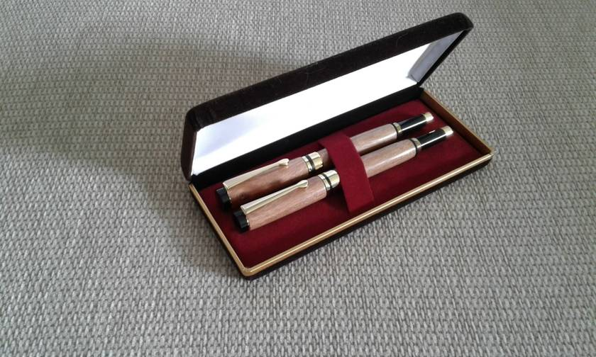 Classic Fountain Pen and Rollerball Set  - Made to Order