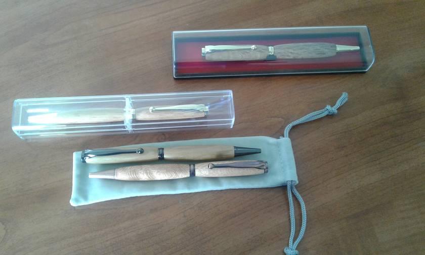 Exotic Slimline Ballpoint Pens