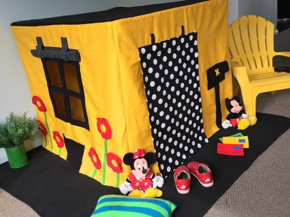 Fabric Playhouse / Table Tent