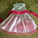 Pure Cotton Lawn Dress with Small Coloured Hearts